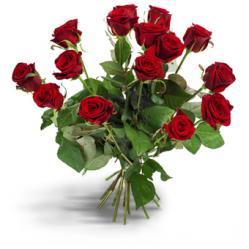 Rode rozenboeket