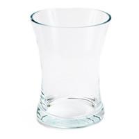Doorzichtige glazen vaas