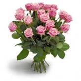 Perfecte roze rozen boeket